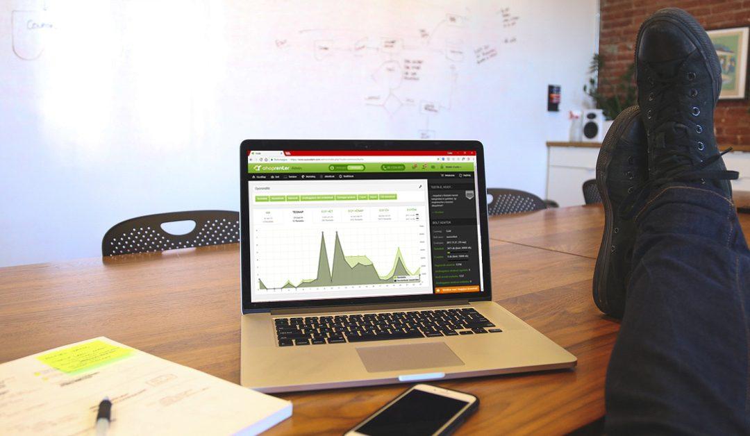 Webshop marketing stratégia – a legegyszerűbb módszer ShopRenter alá